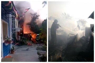 Масштабное ЧП в Одессе, пожар охватил домики на причале: видео происходящего