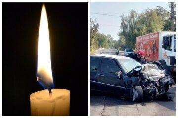 Mercedes смяло от удара в микроавтобус, всё закончилось печально: кадры тройного ДТП под Одессой