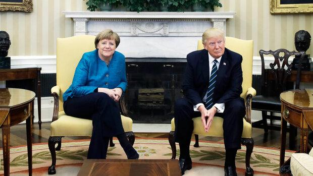 Трамп Меркель