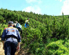 спасатели в карпатах в горах