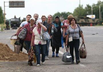 донбасс, 2014, переселенцы