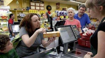 магазин, супермаркет, недовольный покупатель