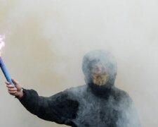 дым протест