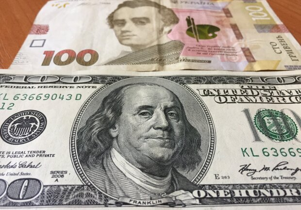 курс валют в украине, доллар, гривна, деньги