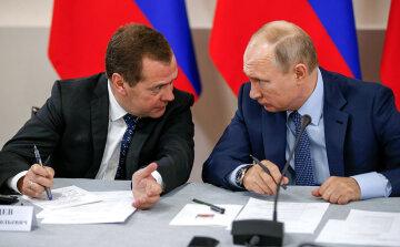 """Медведев публично опозорил Путина, появилось фото: """"лилипутик"""""""