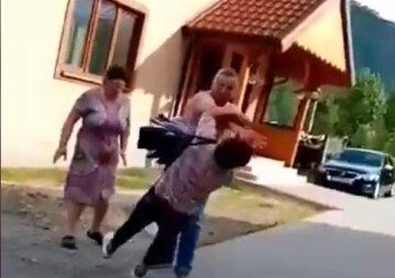 Соратник Тимошенко избил женщину и может отделаться мелким штрафом: кадры беспредела