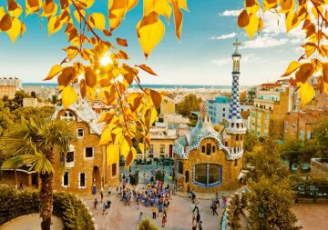 куда поехать осенью туризм, путешествия, Барселона