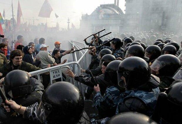 Россия протест