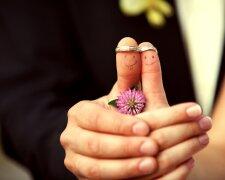 свадьба молодожены