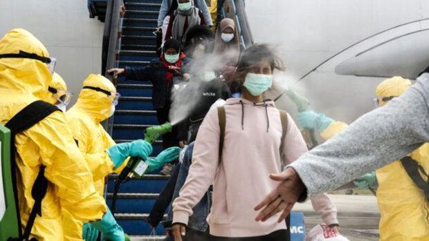 эвакуация, Китай