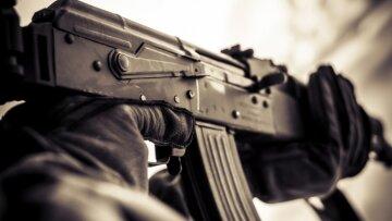 стрельба, калашникова, оружие