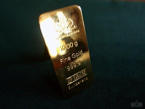 УНИАН Золото резервы