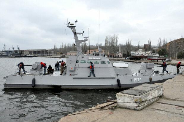 бронекатер, Никополь, корабль