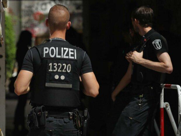 Нацист обстрелял полицейских в Германии