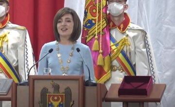 """Новообрана президент Молдови раптово заговорила українською на присязі: """"Я вимагатиму..."""""""