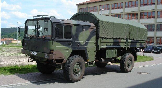бундесвер армия германии грузовик военный грузовик