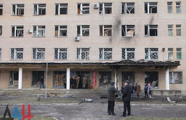Больница в Донецке 1