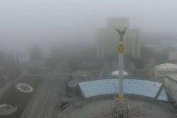 киев, украина, загрязнение воздуха, смог