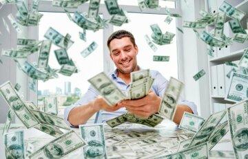 деньги, доллар, радость,