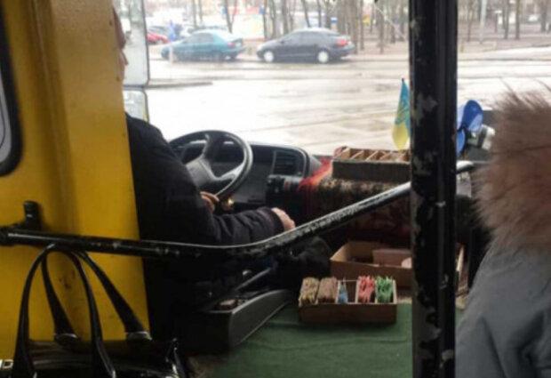 """""""Выросло прям на окне"""": в сети показали мерзкую находку в днепровской маршрутке"""