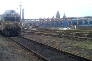 Боевики расстреляли вокзал в Авдеевке (фото)
