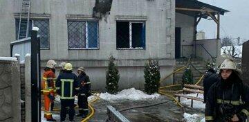 За все ответит владелец: появилась официальная причина пожара в доме престарелых в Харькове