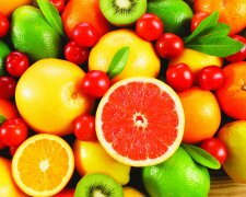 фрукты цитрус