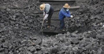 шахта Китая