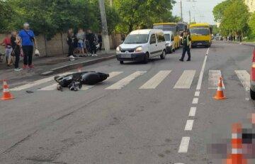 Масштабная авария в Виннице, детей забрала скорая: кадры с места