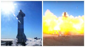 Марсианский корабль Starship от SpaceX рванул при посадке: видео взрыва и эмоциональная реакция Маска