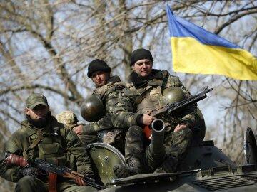 украинские военные, АТО, армия