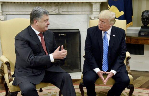 В визите Порошенко к Трампу найден след «регионалов»