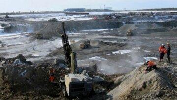 залізна руда, видобуток