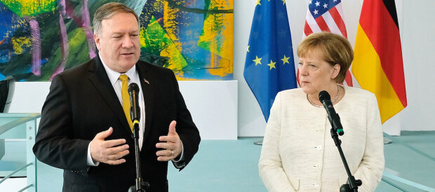 US Secretary of State Mike Pompeo in Berlin