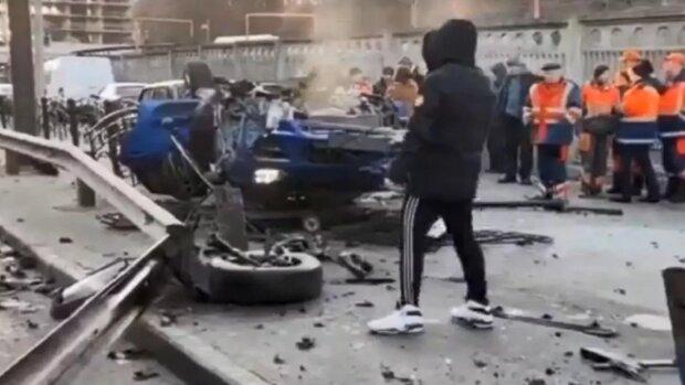 Дочка скандального соратника Януковича на Porsche влаштувала жахливу ДТП у Києві: всі подробиці і кадри