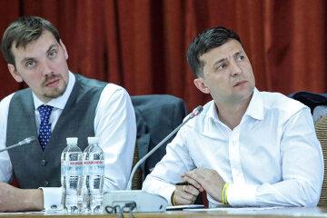 Владимир Зеленский, Алексей Гончарук