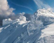 арпаты снегопад