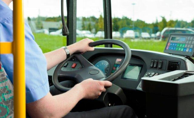 автобус, водитель