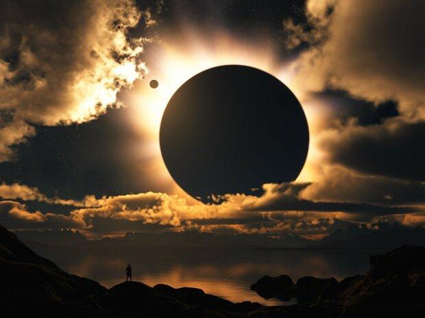 затмение солнечное