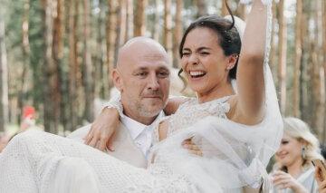 Дорофеева, Каменских и не только: свадебные наряды украинских звезд, которые удивили
