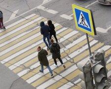 пешеходный переход, пешеходы