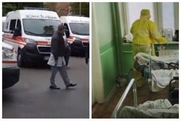 """Одеські лікарні перестали приймати заражених, вишикувалися черги зі швидких: """"у парку замерзають..."""""""