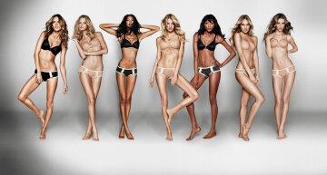 стройные, худые, модели