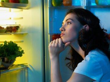 еда, холодильник