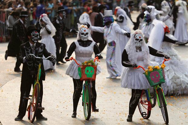 день мертвых, Мехико, Мексика