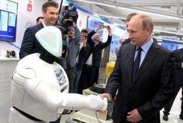 """Технологічний """"тріумф"""" Путіна став посміховиськом на весь світ: """"Навіщо роботи, якщо є..."""""""