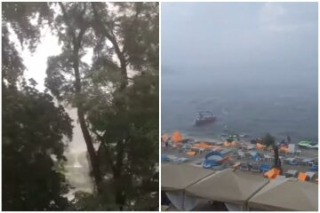 Київ постраждав від потужної негоди, пилова буря і злива наробили лиха: кадри руйнувань