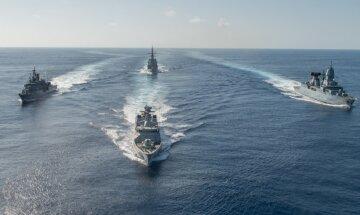 корабли в Черном море, военные корабли
