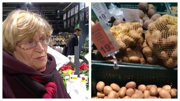 цены на продукты, карантин, супермаркет