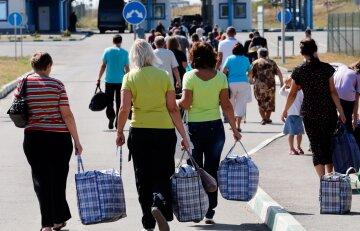вокзал сумки переезд беженцы